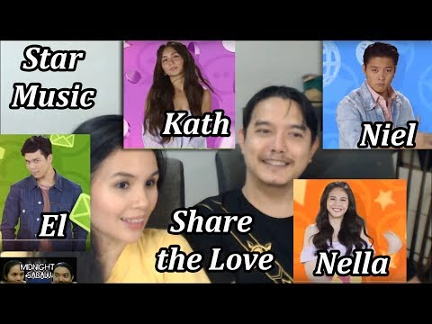 Midnight Sabaw Ep 26 Star Music Loveteam Collab Share the Love KathNiel ElNella Video Reaction