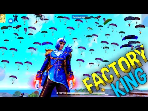 How To Become Factory King😂Must Watch- Garena Free Fire