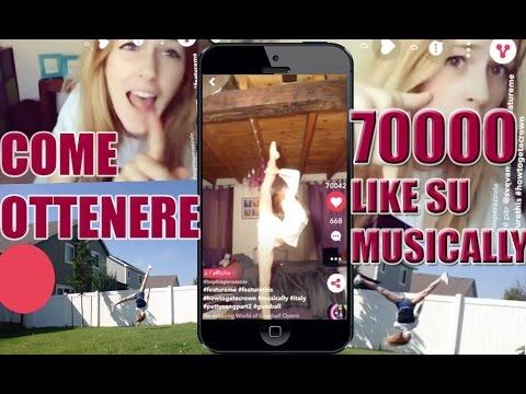 COME OTTENERE 70000 LIKE SU MUSICALLY +1000 FOLLOWERS | #Featured