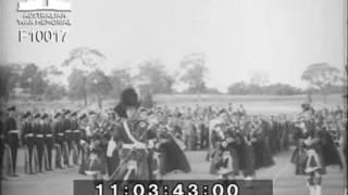 Anzac Day 1953 at the Australian War Memorial