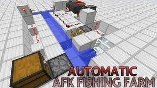 Minecraft Farm: AFK Fishing Farm (works in 1.7, 1.8)
