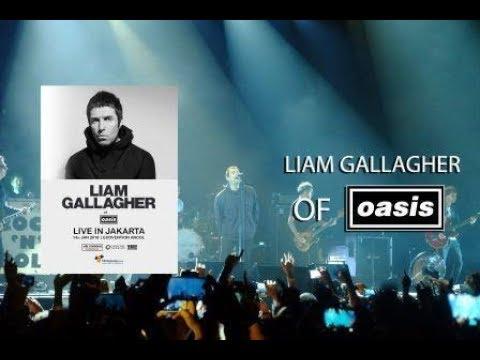 #vlog Liam Gallagher live JAKARTA concert 14 january 2018