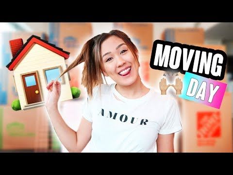 Moving & Unpacking Into my DREAM HOUSE!