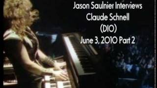 Claude Schnell Interview 2010 | Dio