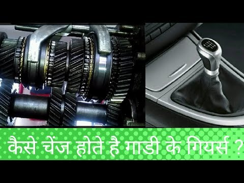 How Gearbox Fork Selector Works ?