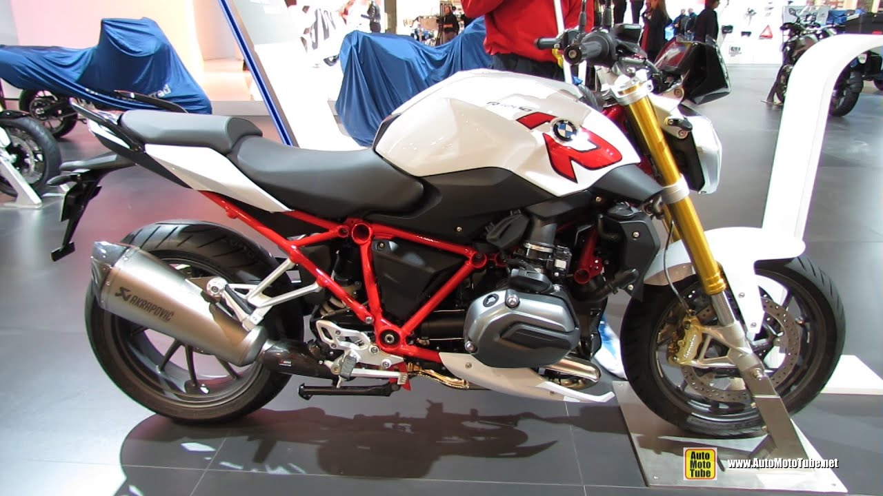 2015 BMW R1200R - Walkaround - 2014 EICMA Milan Motorcycle Exhibition ...