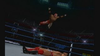 "WWE Smackdown vs Raw 2011 ""Table Mach"". Rey Misterio vs The Miz PS2 Gameplay"