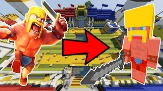 CLASH ROYALE IN MINECRAFT!?!?  • Minecraft Clash Royale Battle • 9,000 SUBS!