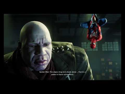 Spiderman Fighting Angry Drug Lord Bane - Tombstone Part 2 (tombstone On The Move Side Mission)