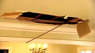 'Neighbor From Hell' Comes Crashing Through Ceiling