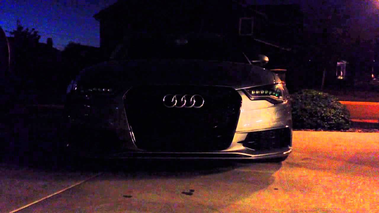 Audi a6 c7 led retrofit RGB mod wifi by FC Lightning!
