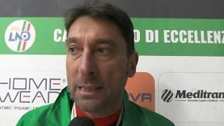 Corato calcio, Castelletti: «Chi crede che Aradeo sia facile non ha capito niente»