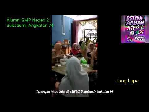Reuni Akbar SMP Negeri 2 Sukabumi