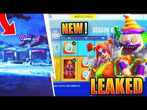 Fortnite Season 6 Battle Pass Skins Theme Leaked Fortnite Season