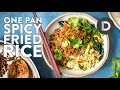 ONE PAN Spicy Fried Rice Recipe!