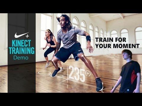 Nike + Kinect Training Demo
