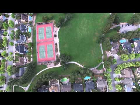 Phantom 3 Pro over Sunnyvale, Ca