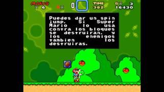 Super Mario World SNES PC Español