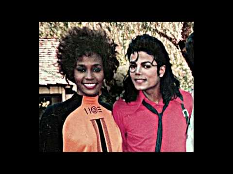 Michael Jackson and Whitney Houston at Neverland (rare pictures) , April 1989