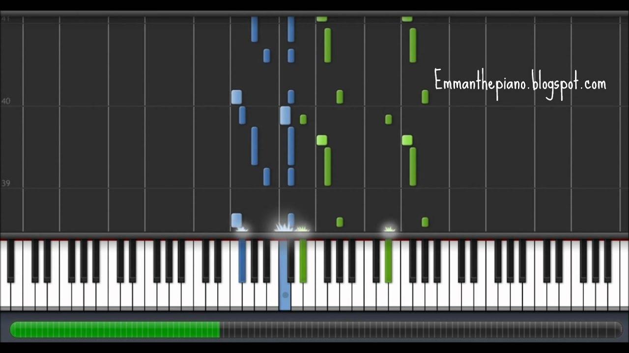 9285d09250a (How to Play) Ludwig van Beethoven - Moonlight Sonata (Sonata No. 14 2nd  Mvt.) on Piano (100%)