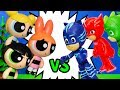 PJ MASKS Vs Powerpuff Girls Hero Challenge to Save Tangled Ever After Rapunzel