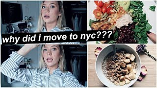 Why Did I Move to NYC/Where I am Working! + life after college & more HEALTHY recipes!