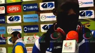 بالفيديو .. دياندا: مستوي الكونغو الديمقراطية في البطولة مشرف