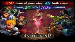 BattleLand:Warrior VS Monster HD - [iOS] Gameplay