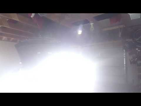 2006 toyota 4runner 4th gen with LED high and low beams test and flashing rapidly