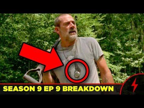 WALKING DEAD Season 9 Mid-Season Premiere BREAKDOWN - Whisperers Revealed!