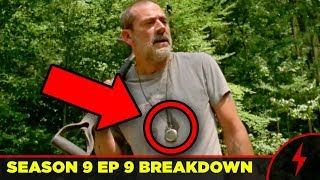 WALKING DEAD Season 9 Mid-Season Premiere BREAKDOWN - Whisperers Revealed!