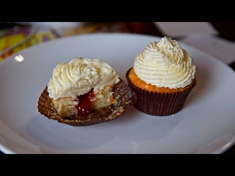 Классические ванильный капкейки / кексы | Простой рецепт