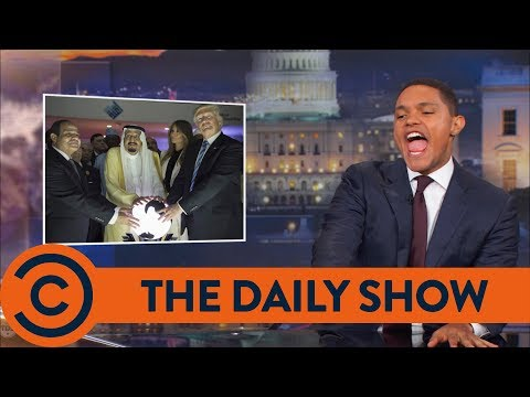 The Times Trump Tried To Grab The World - The Daily Show | Comedy Central