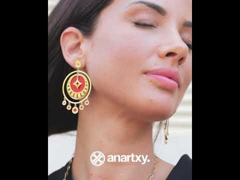 Pendientes piedra natural BPE403 video