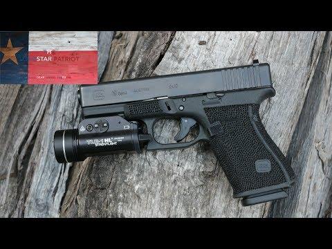 Stippling Process: Glock 19 Gen 4