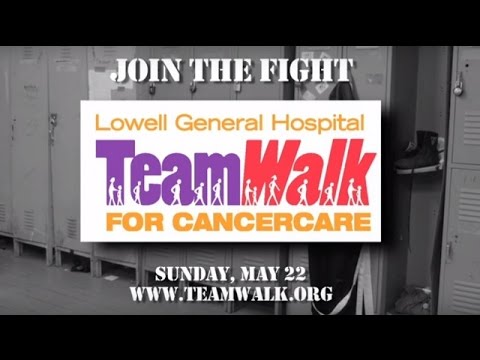 Join the fight with Lowell General Hospital's TeamWalk for CancerCare