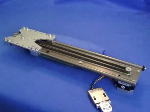 High speed linear actuator using stepper motors youtube for High speed stepper motor