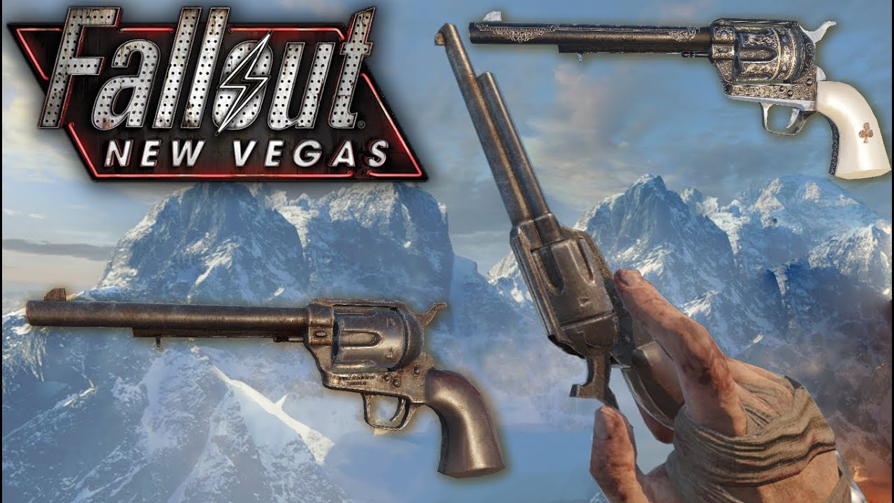 [Black Ops 3 Mod Tools] Fallout New Vegas  357 Magnum (Colt Single Action  Army)
