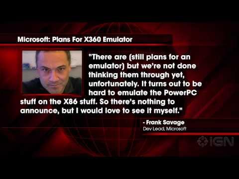 "News: Microsoft Still ""Thinking Through"" Xbox 360 Emulation On Xbox One"
