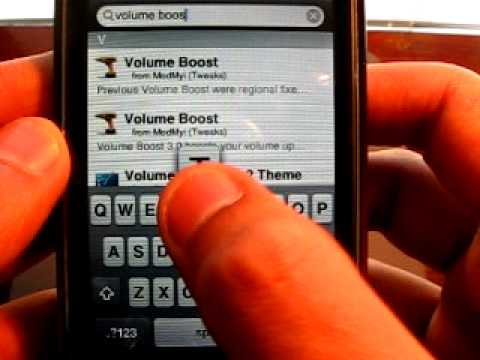 Cydia Tweak: Volume Boost