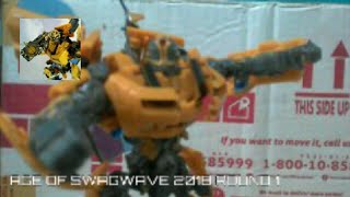 AGE OF SWAGWAVE CONTEST ENTRY 2018 | Bumblebee VS Bonecrusher | Stop Motion
