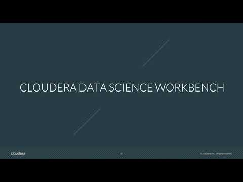 Introducing Cloudera Data Science Workbench For HDP