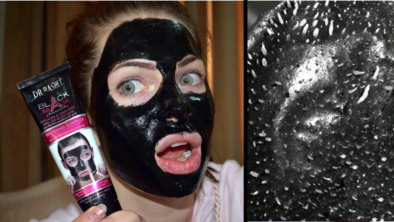 Does It Work Black Mask By Dr Rashel Test Youtube