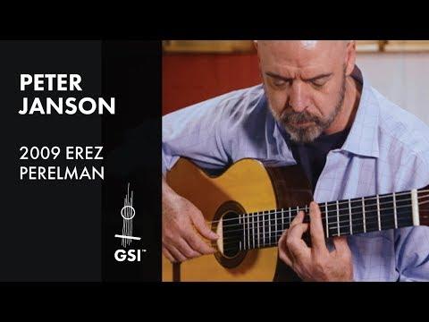 Green and Golden - Peter Janson plays 2009 Erez Perelman
