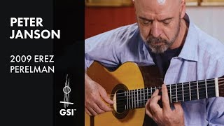 Green and Golden - Peтer Janson plays 2009 Erez Perelman