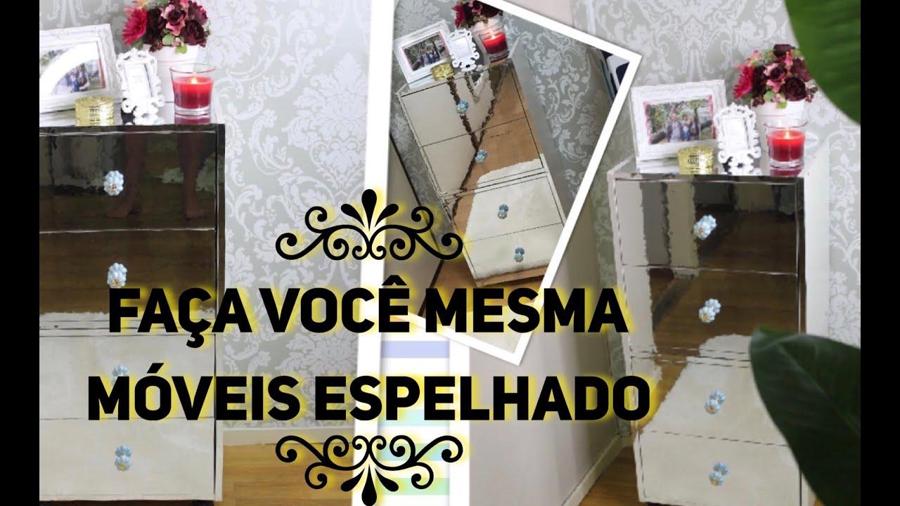 DIY Faa Voc Mesma Mveis espelhado   YouTube