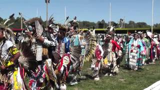 Sioux Nation Pow Wow Grand Entrance 8-7-2010