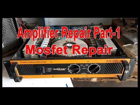 Studiomaster amplifier repair Part-1 (hindi)