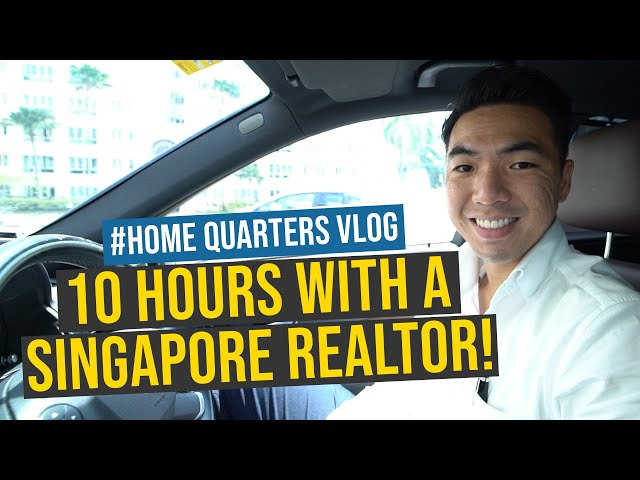 10 hours with a Singapore Realtor!   Home Quarters Vlog Ep 1