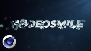 Киношная заставка в стиле Greyscalegorilla в Cinema 4D